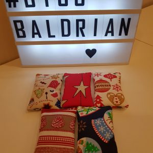 Baldrian Kissen – Christmas Edition (5er Set)